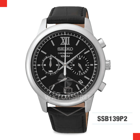 Seiko Chronograph Watch SSB139P2