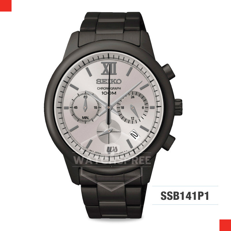 Seiko Chronograph Watch SSB141P1