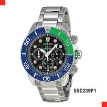 Load image into Gallery viewer, Seiko Chronograph Diver Solar Watch SSC239P1