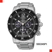 Load image into Gallery viewer, Seiko Solar Chronograph Watch SSC245P1