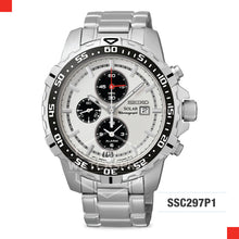 Load image into Gallery viewer, Seiko Solar Chronograph Watch SSC297P1