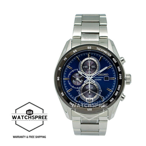 Seiko Criteria Solar Chronograph Watch SSC405P1 (Not for EU Buyers)