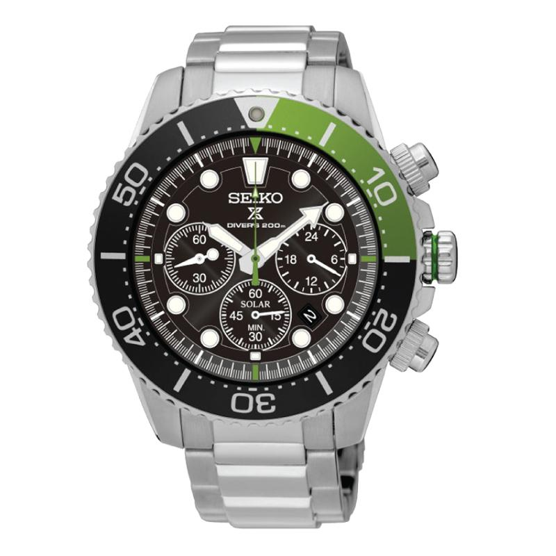 Seiko Prospex Sea Series Air Diver's Automatic Silver Stainless Steel Band Watch SSC615P1