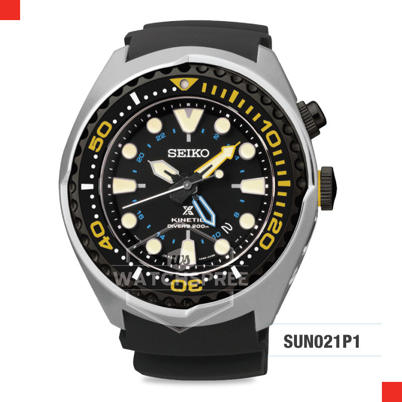 Seiko Prospex Kinetic Diver Watch SUN021P1