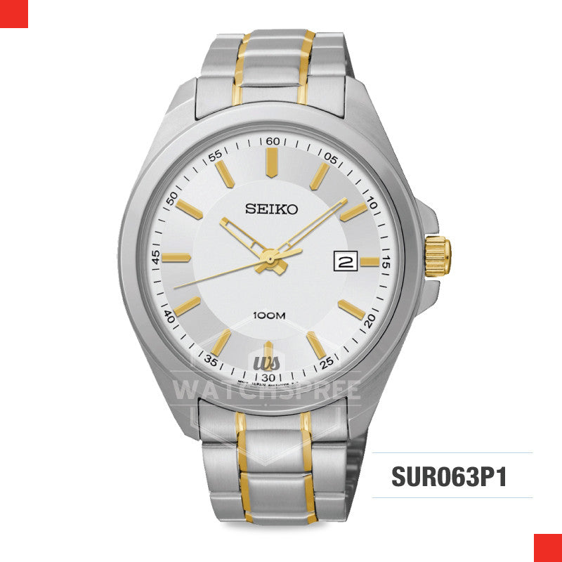 Seiko Quartz Watch SUR063P1