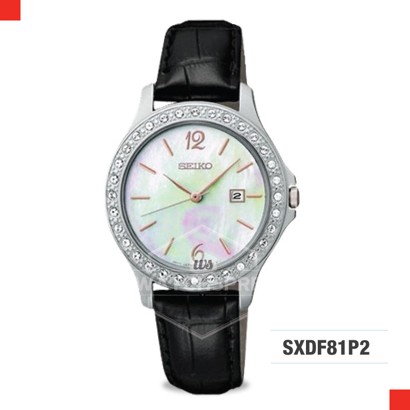 Seiko Women Quartz Watch SXDF81P2