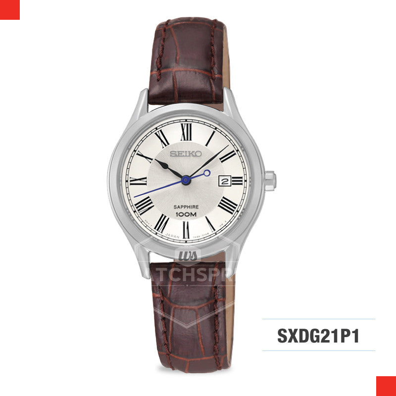 Seiko Women Quartz Watch SXDG21P1