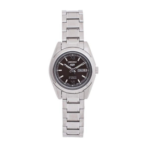 Seiko Women's Automatic Silver Stainless Steel Band Watch SYMK25K1