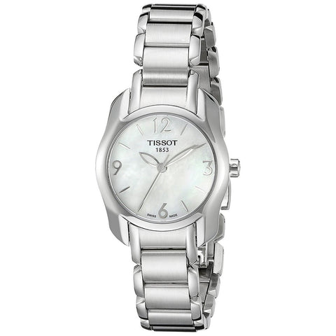 Tissot T-Wave Mother of Pearl Dial 28 mm x 26 mm Ladies Watch T023.210.11.117.00 [Pre-order]