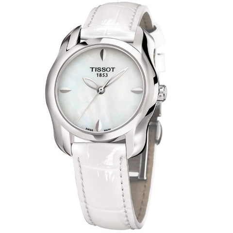 Tissot T-Wave Mother of Pearl Dial 28.5 mm x 26 mm Ladies Watch T023.210.16.111.00 [Pre-order]