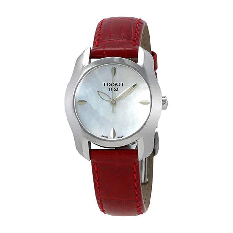 Tissot T-Wave Mother of Pearl Dial 27 mm Ladies Watch T023.210.16.111.01