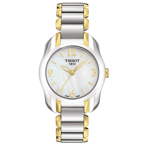 Tissot T-Wave Mother of Pearl Dial 28.5 mm x 26 mm Ladies Watch T023.210.22.117.00 [Pre-order]