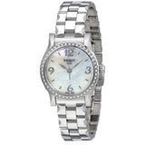 Tissot Stylis-T White Mother of Pearl Dial 28 mm Ladies Watch T028.210.11.117.00