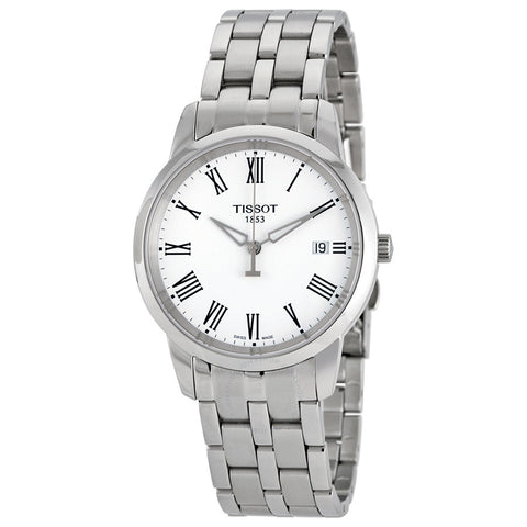 Tissot T-Classic Dream White Dial Stainless Steel 38 mm Men's Watch T033.410.11.013.01 [Pre-order]