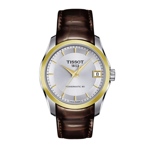 Tissot Couturier Automatic Silver Dial 32 mm Ladies Watch T035.207.26.031.00