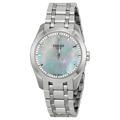Tissot Couturier Mother of Pearl Dial Stainless Steel 33 mm Ladies Watch T035.246.11.111.00