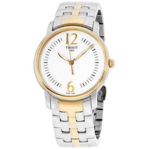 Tissot Lady Round Trend Silver PVD 38 mm Ladies Watch T052.210.22.037.00