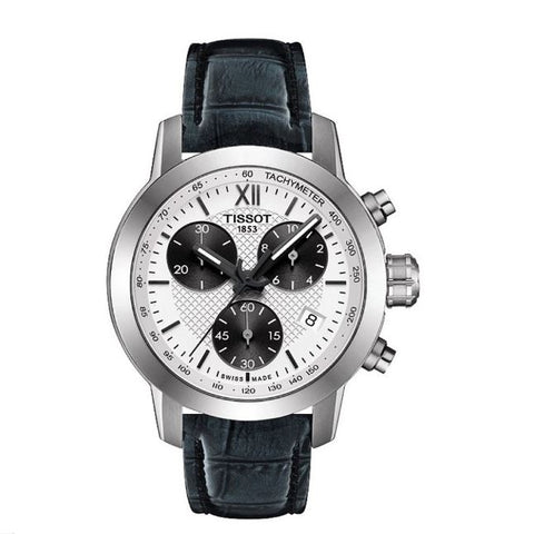 Tissot PRC200 Chronograph White Dial 35 mm Ladies Watch T055.217.16.038.00 [Pre-order]