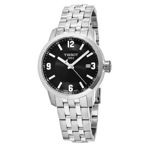 Tissot PRC 200 Quartz Black Dial Stainless Steel Sport 39 mm Men's Watch T055.410.11.057.00 [Pre-order]