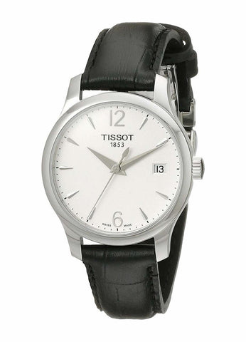 Tissot T-Classic Tradition Silver Dial 33 mm Ladies Watch T063.210.16.037.00
