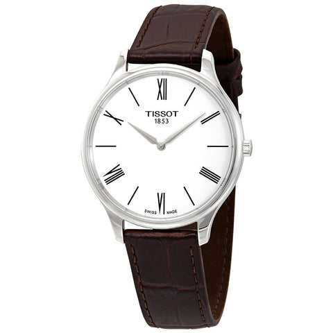 Tissot Tradition Thin White Dial 39 mm Men's Watch T063.409.16.018.00 [Pre-order]