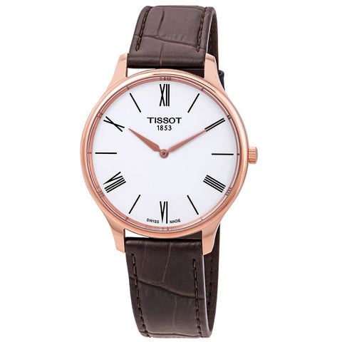 Tissot Tradition 5.5 White Dial 39 mm Men's Watch T063.409.36.018.00 [Pre-order]
