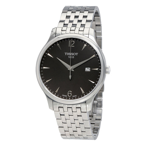 Tissot Tradition Anthracite Dial 43 mm Men's Watch T063.610.11.067.00 [Pre-order]
