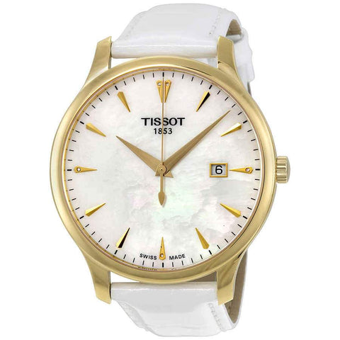 Tissot Tradition Mother of Pearl Dial 42 mm Ladies Watch T063.610.36.116.00 [Pre-order]