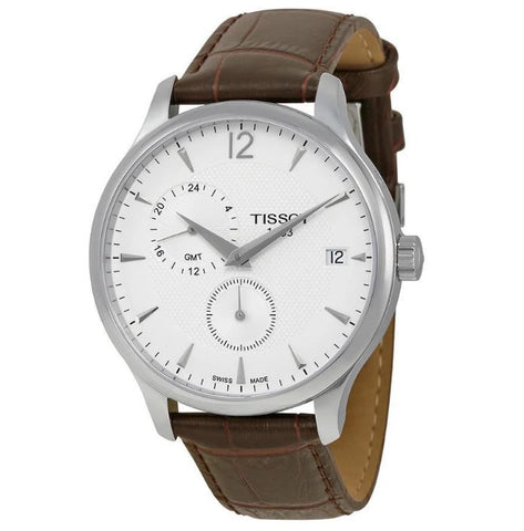 Tissot Tradition GMT White Dial 42 mm Men's Watch T063.639.16.037.00 [Pre-order]