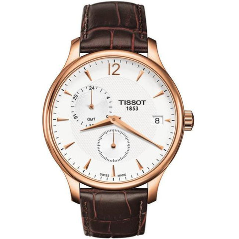 tissot Tradition Rose Gold-tone 42 mm Men's Watch T063.639.36.037.00 [Pre-order]