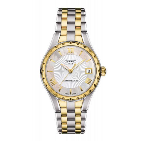 Tissot Lady 80 Automatic Mother of Pearl Dial 34 mm Ladies Watch T072.207.22.118.00 [Pre-order]