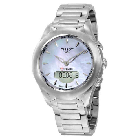 Tissot T-Touch Solar Lady Mother of Pearl Dial 38 mm Ladies Watch T075.220.11.101.01