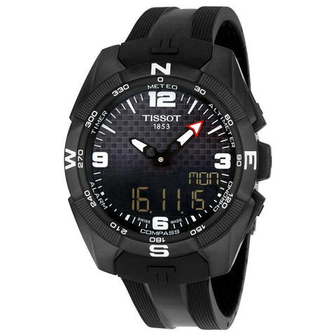 Tissot T-Touch Expert Solar Black Dial 45 mm Men's Watch T091.420.47.057.01 [Pre-order]