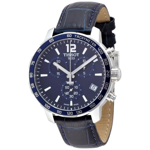 Tissot Quickster Chronograph Blue Dial 42 mm Men's Watch T095.417.16.047.00