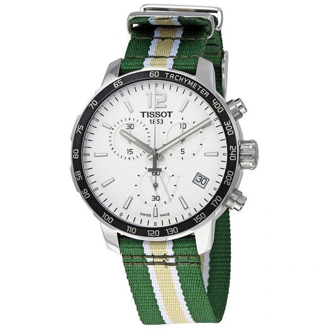 Tissot Quickster Milwaukee Bucks Chronograph 42 mm Men's Watch T095.417.17.037.24 [Pre-order]