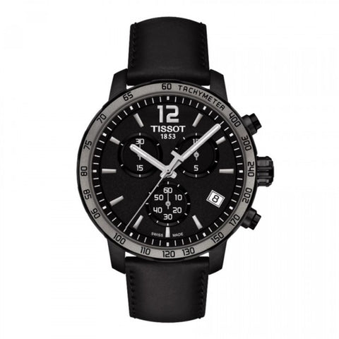 Tissot Quickster Chronograph Black Dial 42 mm Men's Watch T095.417.36.057.02 [Pre-order]