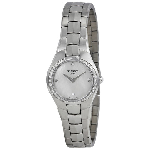 Tissot T-Round Cream Dial Stainless Steel 26 mm Ladies Watch T096.009.61.116.00 [Pre-order]