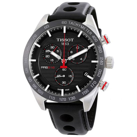 Tissot PRS 516 Chronograph Black Dial 42 mm Men's Watch T100.417.16.051.00 [Pre-order]