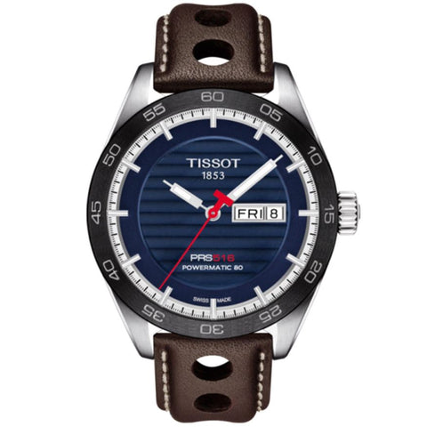 Tissot PRS 516 Automatic Blue Dial 42 mm Men's Watch T100.430.16.041.00 [Pre-order]