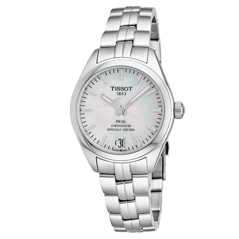Tissot PR 100 Automatic 33 mm Ladies Watch T101.208.11.111.00 [Pre-order]