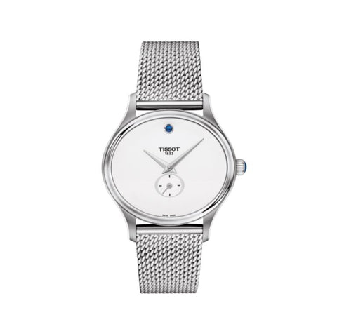 Tissot Bella Ora White Dial 31.4 mm x 28 mm Ladies Watch T103.310.11.031.00 [Pre-order]