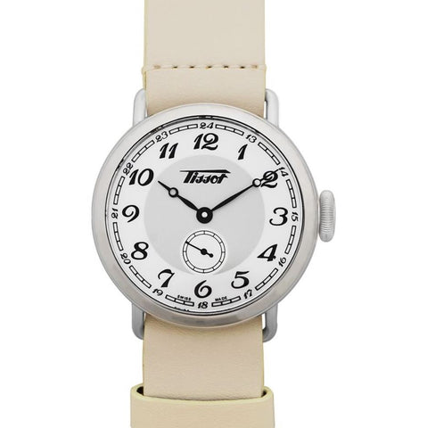 Tissot Heritage 1936 Automatic White Dial 36 mm Ladies Watch T104.228.16.012.00 [Pre-order]