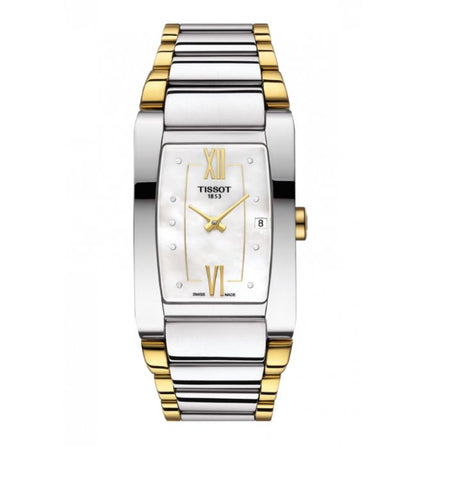 Tissot Generosi-T White Mother of Pearl Dial 27.5 mm Ladies Watch T105.309.22.116.00 [Pre-order]