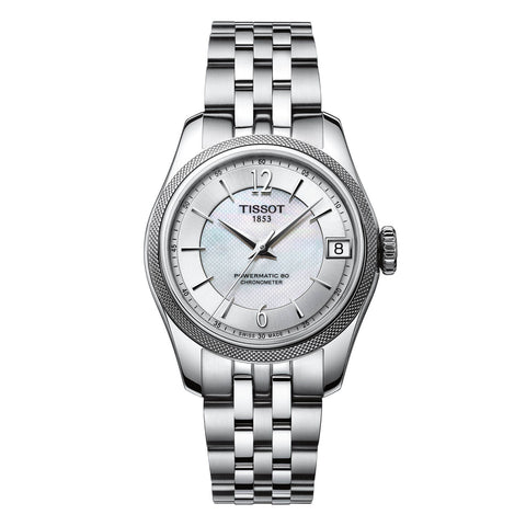 Tissot T-Classic Ballade Mother Of Pearl Dial Automatic 30 mm Ladies Watch T108.208.11.117.00 [Pre-order]