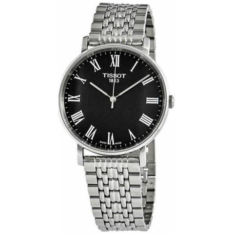 Tissot Everytime Medium Black Dial 38 mm Men's Watch T109.410.11.053.00 [Pre-order]
