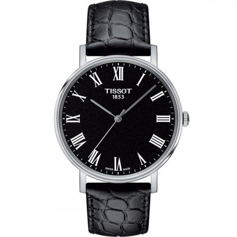 Tissot Everytime Medium Black Dial 38 mm Men's Watch T109.410.16.053.00 [Pre-order]