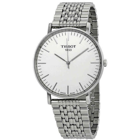 Tissot Everytime Silver Dial 42 mm Men's Watch T109.610.11.031.00 [Pre-order]