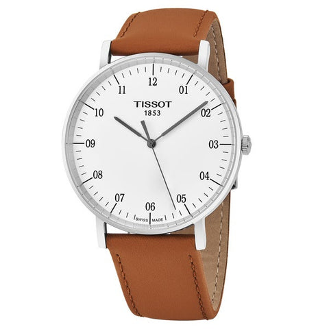 Tissot T-Classic Everytime Silver Dial 42 mm Men's Watch T109.610.16.037.00 [Pre-order]