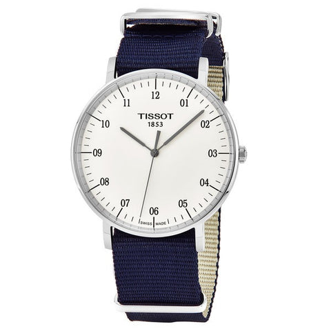 Tissot T-Classic Everytime White Dial 42 mm Men's Watch T109.610.17.037.00 [Pre-order]