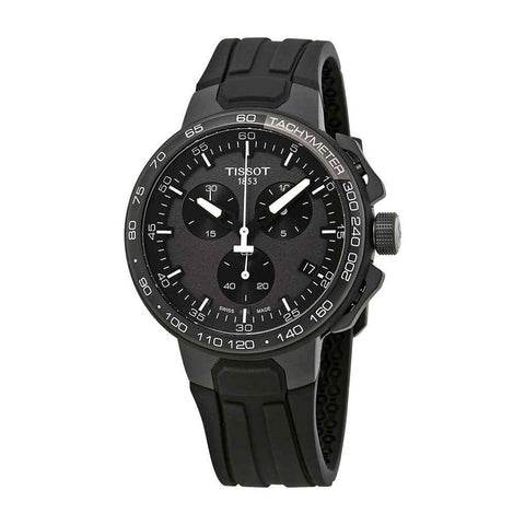 Tissot T-Race Cycling Chronograph Black Dial 44.5 mm Men's Watch T111.417.37.441.03 [Pre-order]